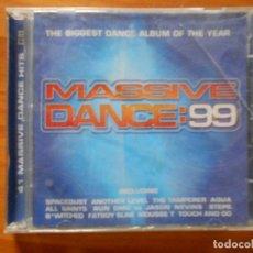 CDs de Música: CD MASSIVE DANCE 99 (2 CD) (1O). Lote 113909847