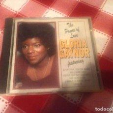 CDs de Música: GLORIA GAYNOR THE POWER OF LOVE FEATURING. 1995. Lote 113952319