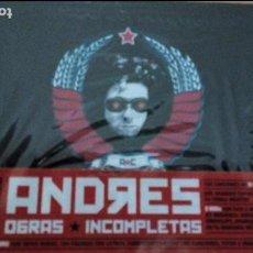CDs de Música: ANDRES CALAMARO OBRAS IMCOMPLETAS BOX SET 6CDS+2DVDS ¡¡PRECINTADA¡¡. Lote 113958307