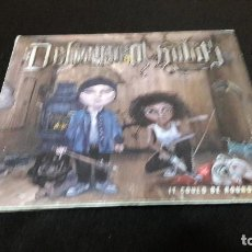 CDs de Música: DELINQUENT HABITS - IT COULD BE ROUND TWO FIRMADO DIFICIL. Lote 114001715