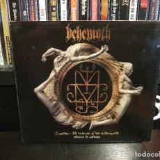 CDs de Música: BEHEMOTH - CHAOTICA - THE ESSENCE OF THE UNDERWORLD - 2 CD'S. Lote 114014291