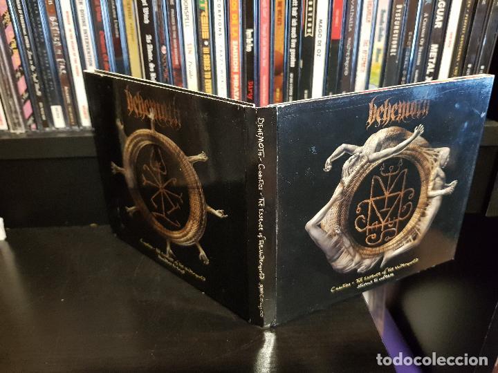 CDs de Música: BEHEMOTH - CHAOTICA - THE ESSENCE OF THE UNDERWORLD - 2 CD'S - Foto 2 - 114014291