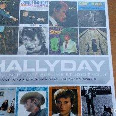 CDs de Música: JOHNNY HALLYDAY L'ESSENTIEL DES ALBUMS STUDIO VOL. I CAJA 13XCDS ¡¡PRECINTADA¡¡. Lote 114016491