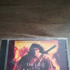 CDs de Música: EL ÚLTIMO MOHICANO BSO CD MÚSICA DE TREVOR JONES Y RANDY EDELMAN. Lote 114086375