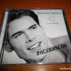CDs de Música: EMANUEL ORTEGA A ESCONDIDAS CD ALBUM AÑO 1999 CONTIENE 12 TEMAS DUO ANDRES CALAMARO LOS RODRIGUEZ. Lote 114096555