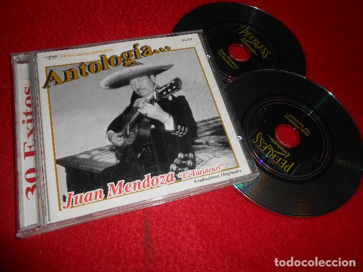 JUAN MENDOZA EL TARIACURI ANTOLOGIA... CD 2002 EDICION MEXICO (Música - CD's Latina)