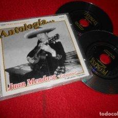 CDs de Musique: JUAN MENDOZA EL TARIACURI ANTOLOGIA... CD 2002 EDICION MEXICO. Lote 114149819