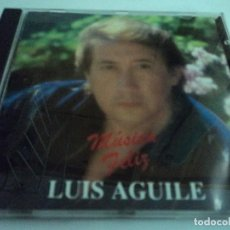CDs de Música: LUIS AGUILE MUSICA FELIZ CON DEDICATORIA EN INTERIOR. Lote 114150475