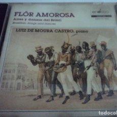 CDs de Música: LUIZ DE MOURA CASTRO FLOR AMOROSA, AIRES Y DANZAS DE BRASIL. Lote 114150927