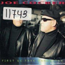 CDs de Música: JOE COCKER - FIRST WE TAKE MANHATTAN (CDSINGLE PROMO DE 1999). Lote 114153391
