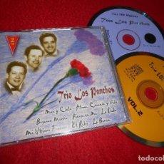 CDs de Musique: TRIO LOS PANCHOS LAS 100 MEJORES VOL.2 CD 2000 EDICION ESPAÑOLA SPAIN. Lote 114157535