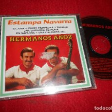 CDs de Música: HERMANOS ANOZ ESTAMPA NAVARRA CD 1994 EDICION ESPAÑOLA SPAIN JOTA JOTAS. Lote 114161227