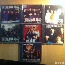 CDs de Música: THE BEATLES - ULTRA RARE TRAX - VOL. 1/2/3/4/5/6 + LIVE IN PARIS 1965. Lote 114209687