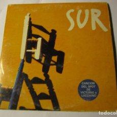 CDs de Música: CD SINGLE SUR CANCION DEL SPOT DE VICTORIO&LUCCHINO. Lote 114226527