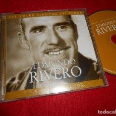 CDs de Música: EDMUNDO RIVERO 15 GRANDES EXITOS CD 2001 EDICION ESPAÑOLA SPAIN. Lote 114247671
