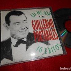 CDs de Música: GUILLERMO PORTABALES LO MEJOR 16 EXITOS CD EDICION CANADA. Lote 114253687