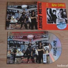 CDs de Música: ROSE TATTOO: ANGRY METAL - 20 GREAT TRACKS / AC/DC, AIRBOURNE, WHITESNAKE, MOTORHEAD, TRUST.... Lote 114272823