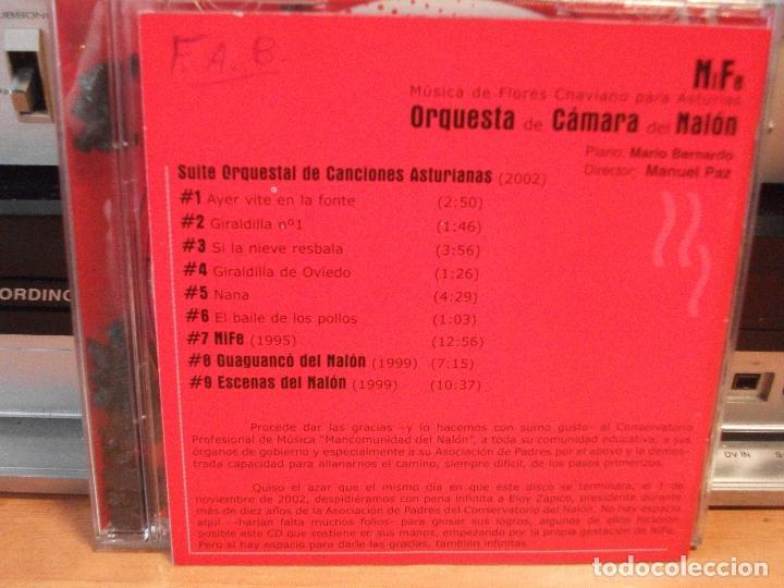 ORQUESTA DE CAMARA DEL NALON SUITE ORCHESTAL DE CANCIONES ASTURIANAS + 3 CD ALBUM PEPETO (Música - CD's World Music)