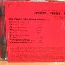 CDs de Música: ORQUESTA DE CAMARA DEL NALON SUITE ORCHESTAL DE CANCIONES ASTURIANAS + 3 CD ALBUM PEPETO. Lote 114284699