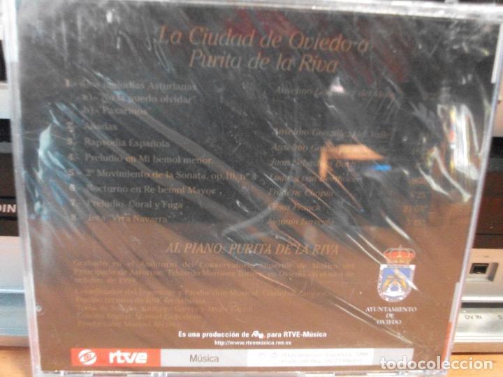 CDs de Música: HOMENAJE A PURITA DE LA RIVA CD ALBUM PRECINTADO ASTURIAS - Foto 2 - 114285395