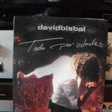CDs de Música: DAVID BISBAL TODO POR USTEDES 2 DVD + 1 CD CONCIERTO DOCUMENTAL ENTREVISTA ACUSTICO MAKING OF 2005. Lote 114287891