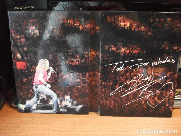 CDs de Música: DAVID BISBAL Todo por ustedes 2 DVD + 1 CD CONCIERTO DOCUMENTAL ACUSTICO MAKING OF 2005 pepeto - Foto 2 - 114287891