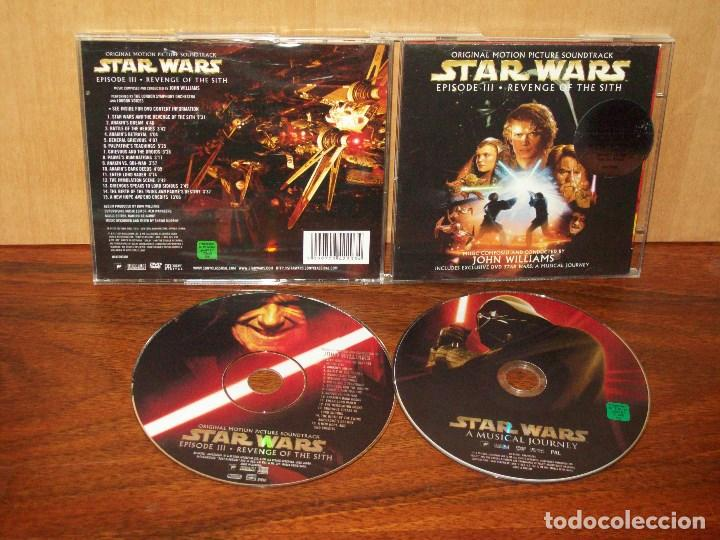 Star Wars Episode Iii Revenge Of The Sith Buy Cd S Of Soundtracks At Todocoleccion 114289127