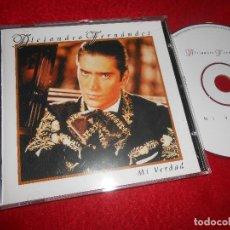 CDs de Música: ALEJANDRO FERNANDEZ MI VERDAD CD 1999 EDICION ESPAÑOLA SPAIN. Lote 114361387