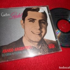 CDs de Musique: CARLOS GARDEL TANGO ARGENTINO VOL.16 CD 1991 EDICION SUIZA. Lote 114361571