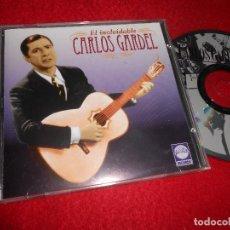 CD di Musica: CARLOS GARDEL EL INOLVIDABLE CD 1994 EDICION SUIZA. Lote 114363839