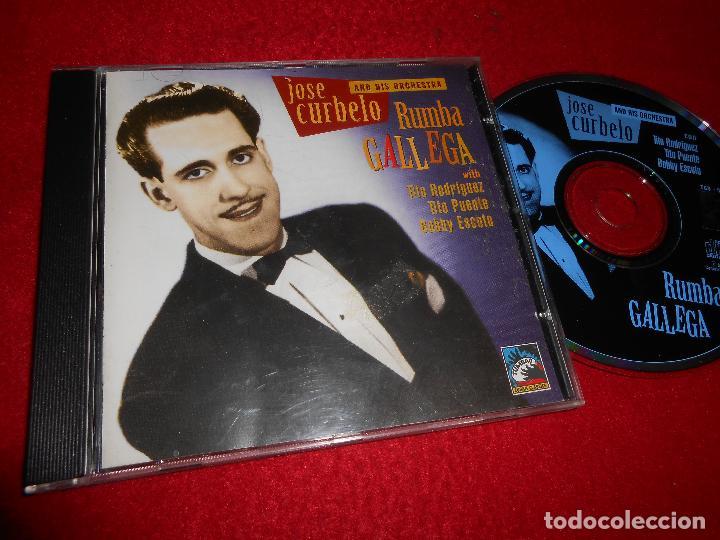 JOSE CURBELO RUMBA GALLEGA TITO RODRIGUEZ+TITO PUENTE+BOBBY ESCOTO CD 1994 ED. SUIZA TUMBAO CUBAN (Música - CD's Latina)