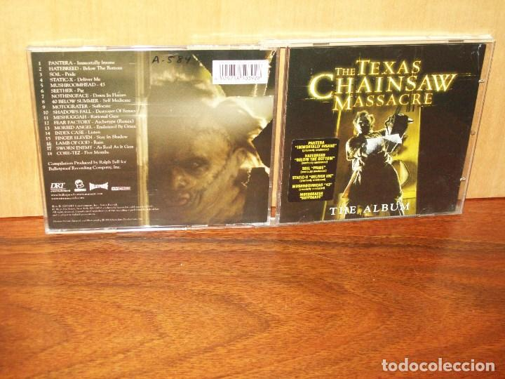 THE TEXAS CHAINSAW MASSACRE - CD BANDA SONORA ORIGINAL