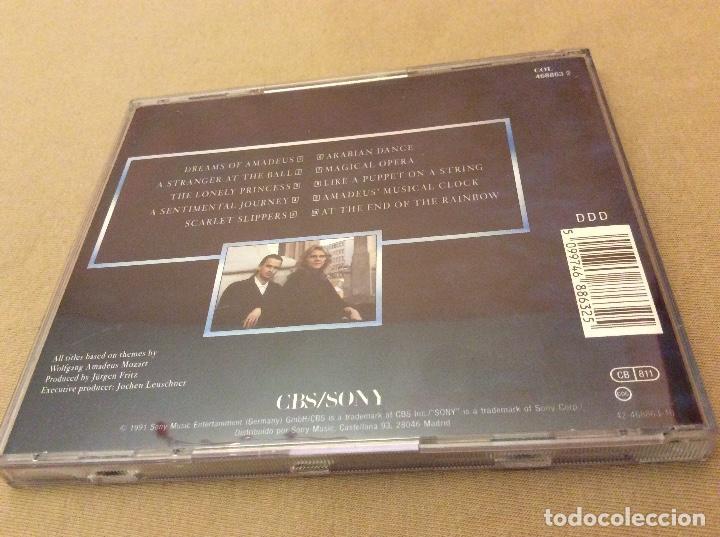 CDs de Música: Millenium – Dreams Of Amadeus. 1991. - Foto 2 - 114399731