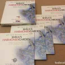 CDs de Música: FLYING HORSE ?– SHIVA'S HARMONIES GARDEN. 2005. BOX SET. 5CD.. Lote 114403523