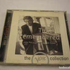 CDs de Música: JOHN MCLAUGHLIN TIME REMEMBERED. Lote 114434187