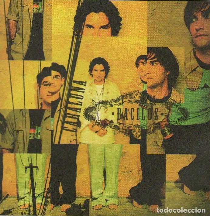 BACILOS - CARALUNA - CD ALBUM - 11 TRACKS - WARNER MUSIC 2002 (Música - CD's Latina)