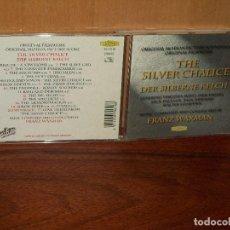 CDs de Música: THE SILVER CHALICE - MUSICA DE FRANZ WAXMAN - CD BANDA SONORA ORIGINAL BSO. Lote 114446327
