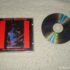 CDs de Música: GARY MOORE- WE WANT MOORE. Lote 114468119