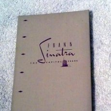 CDs de Música: FRANK SINATRA ?– THE CAPITOL YEARS. Lote 114468467