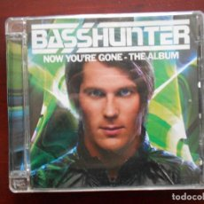 CDs de Música: CD BASSHUNTER - NOW YOU'RE GONE - THE ALBUM (AB). Lote 114518771