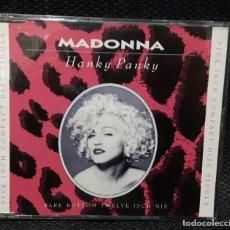 CDs de Música: MADONNA - HANKY PANKY - CD SINGLE - 3 TEMAS- ALEMANIA. Lote 114521215