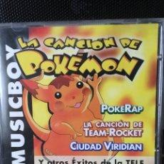 CDs de Música: LA CANCION DE POKEMON-2000-RARO. Lote 114537747