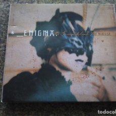 CDs de Musique: CD -- ENIGMA - THE SCREEN BEHIND THE MIRROR -- 2000 - 11 TEMAS -- . Lote 114559423