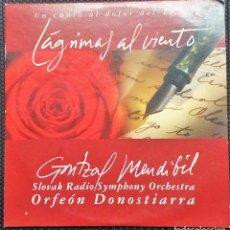 CDs de Música: ORFEON DONOSTIARRA -LAGRIMAS AL VIENTO-UN CANTO AL DOLOR DEL 11-M. Lote 114594331