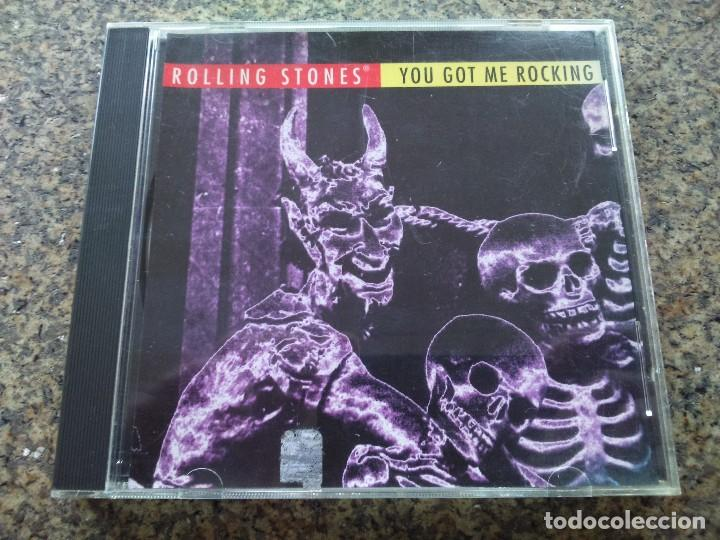 CD -- ROLLING STONES -- YOU GOT ME ROCKING -- 1994 - 5 TEMAS --