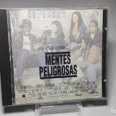 CDs de Música: CD - MUSICA - MENTES PELIGROSAS ( RARO) (BANDA SONORA ORIGINAL). Lote 114615671