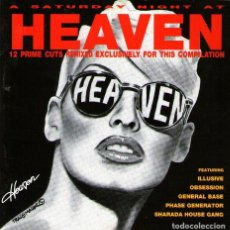 CDs de Música: A SATURDAY NIGHT AT HEAVEN - CD ALBUM - 12 TRACKS - KLONE RECORDS 1994. Lote 114616167