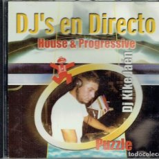 CDs de Música: DJ'S EN DIRECTO. HOUSE & PROGRESSIVE. Lote 114623871