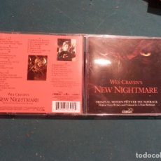 CDs de Música: NEW NIGHTMARE - WES CRAVEN'S - ORIGINAL MOTION PICTURE SOUNTRACK (BSO) CD - BMG 1994. Lote 114623971