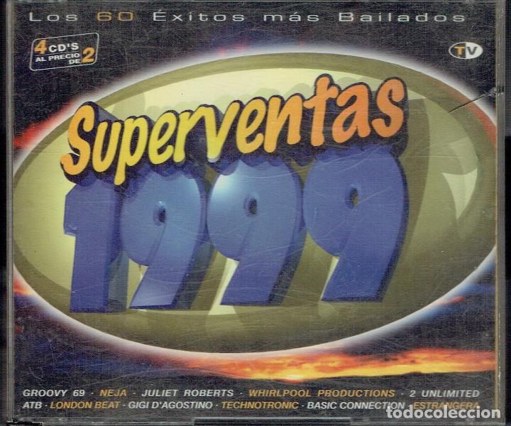 SUPERVENTAS 1999 CDS 1,2 Y 4 (Música - CD's Otros Estilos)
